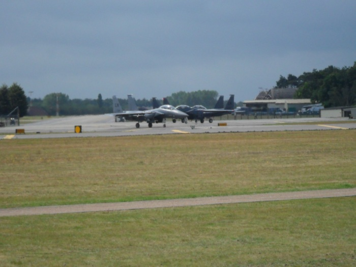 Lakenheath F-15s