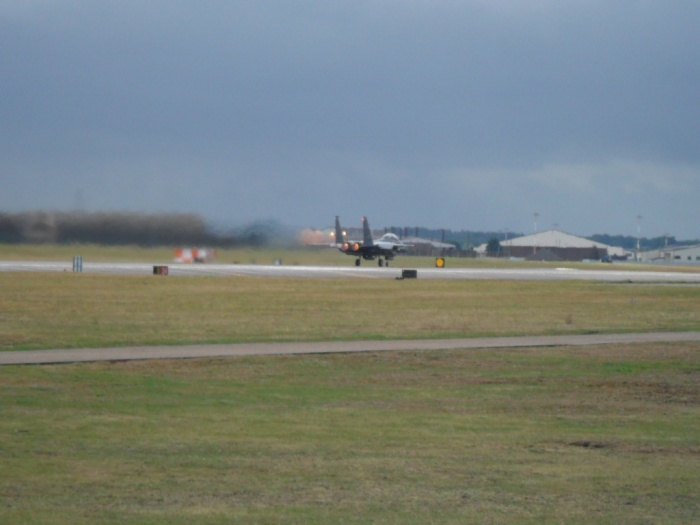 Lakenheath F-15 Taxiing