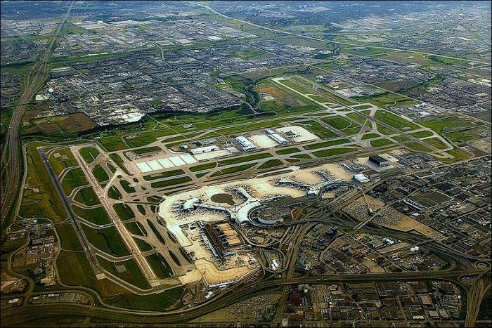 Aerial View of Toronto Pearson