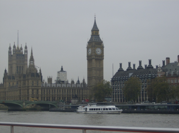 'Big Ben' from the Thames