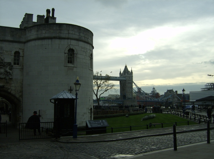 Tower Bridge beyond the Tower