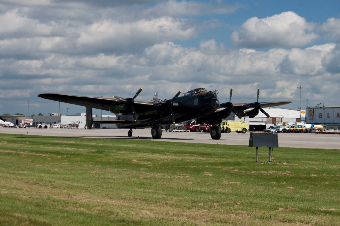 Lancaster Taxiing
