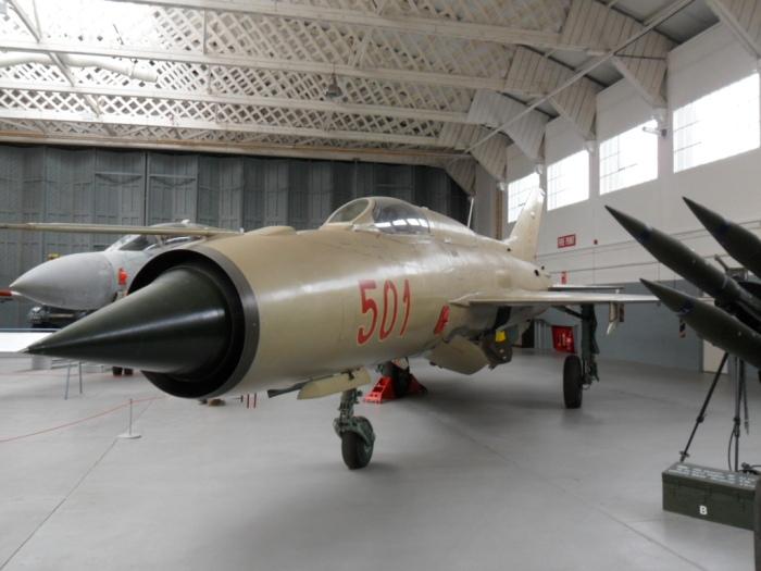 MiG-21 Fishbed Duxford