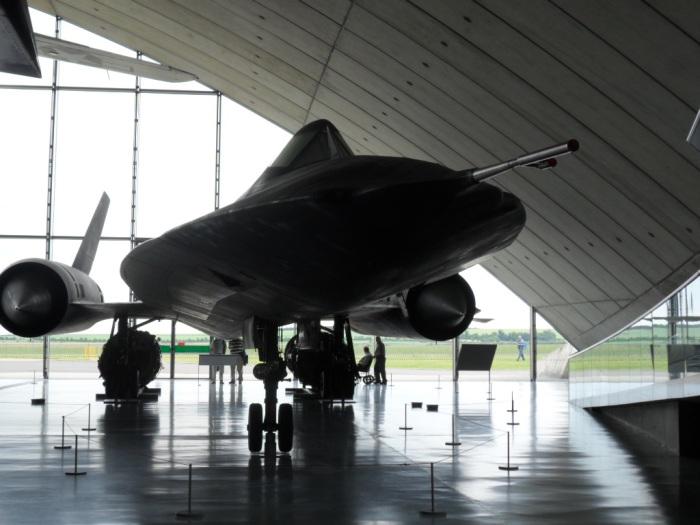 SR-71 Front Duxford