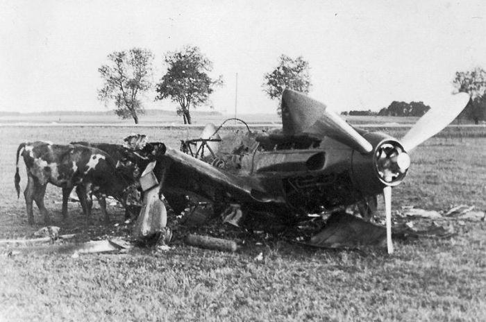 Destroyed MiG-3