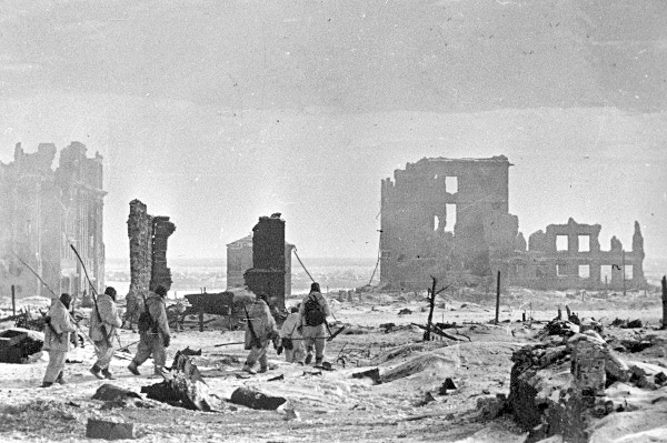 Liberated Central Stalingrad