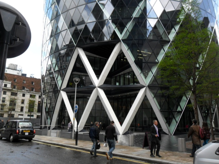 Gherkin Entrance