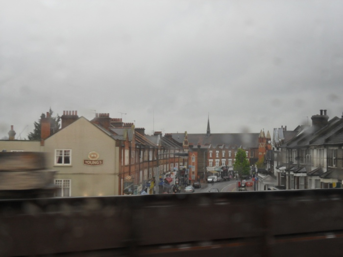 Street from Train