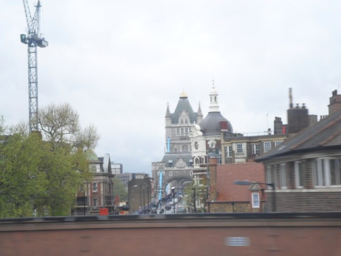 Tower Bridge from Train