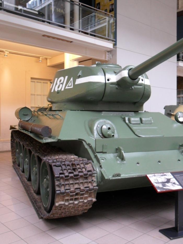 IWM London T-34