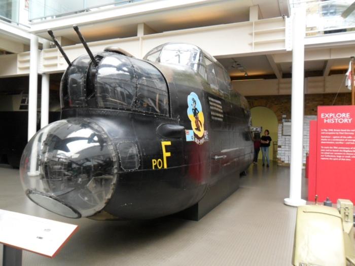 IWM London Lanc Cockpit