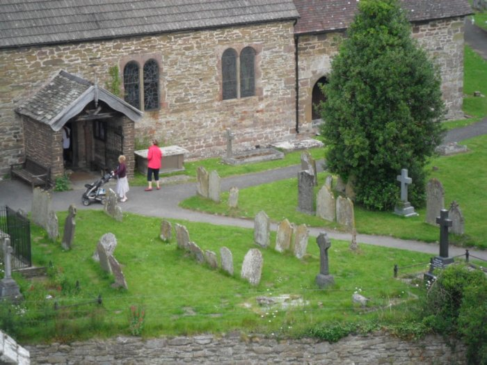 Stokesay Churchyard