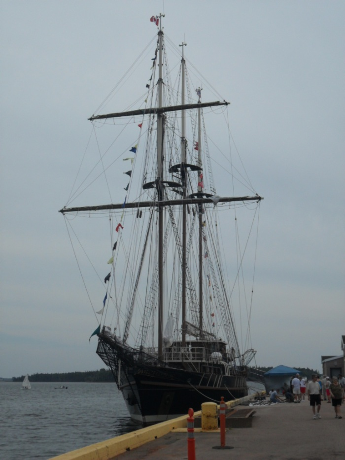 Tallship front view