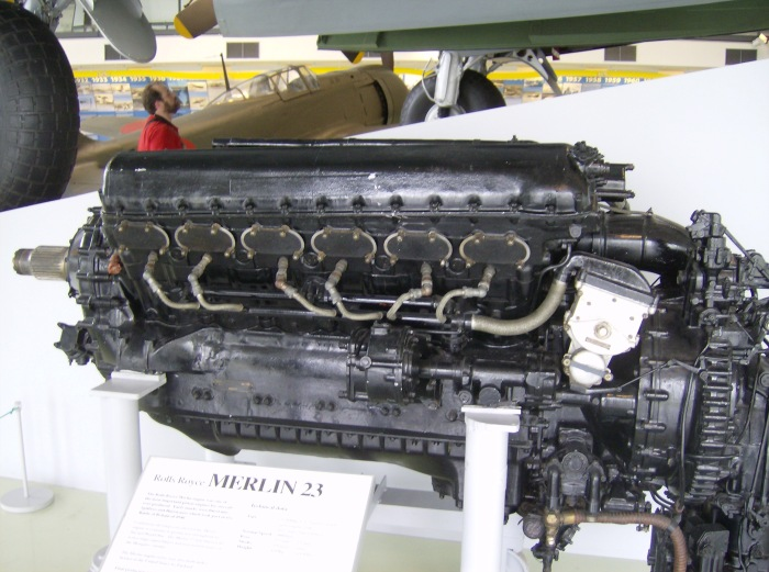 Rolls-Royce Merlin Hendon