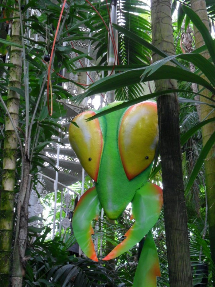 Kew Mantis Sculpture