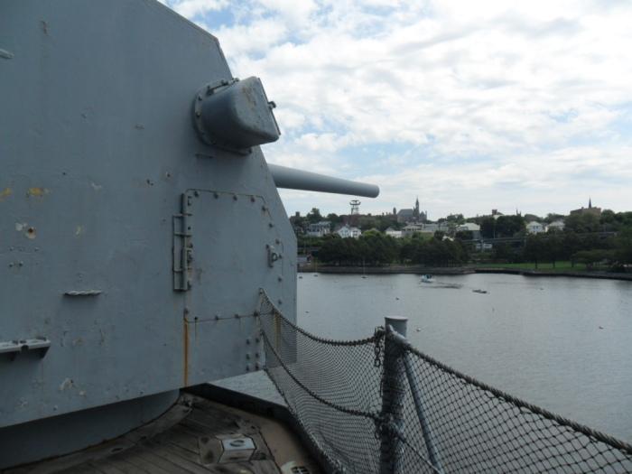 USS Mass Turret
