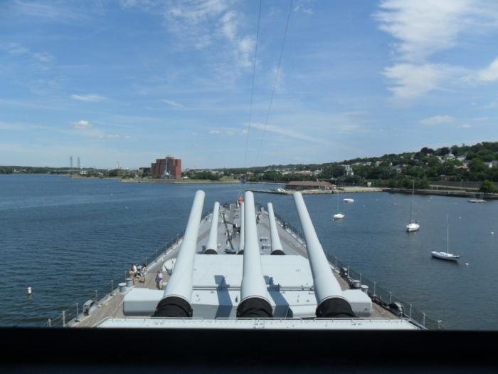 USS Mass Bridge View
