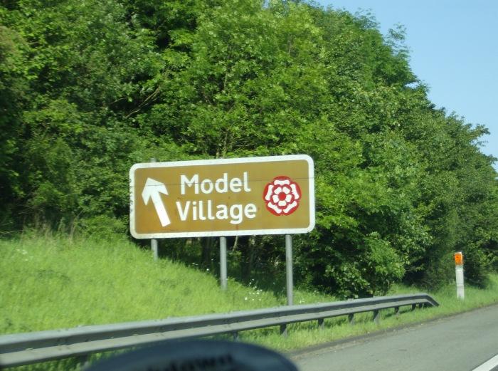 Model Village Sign