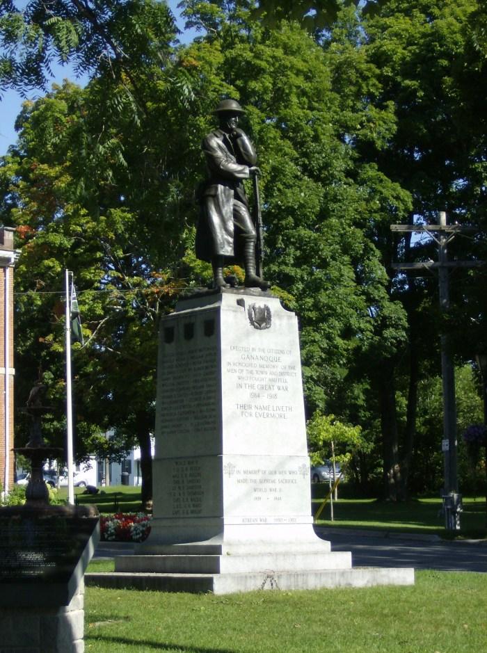 Gananoque Memorial