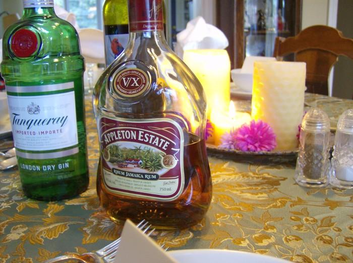 Georgian Dinner Rum