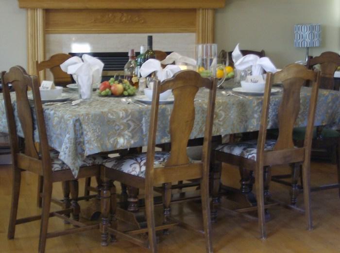 Georgian Dinner Table
