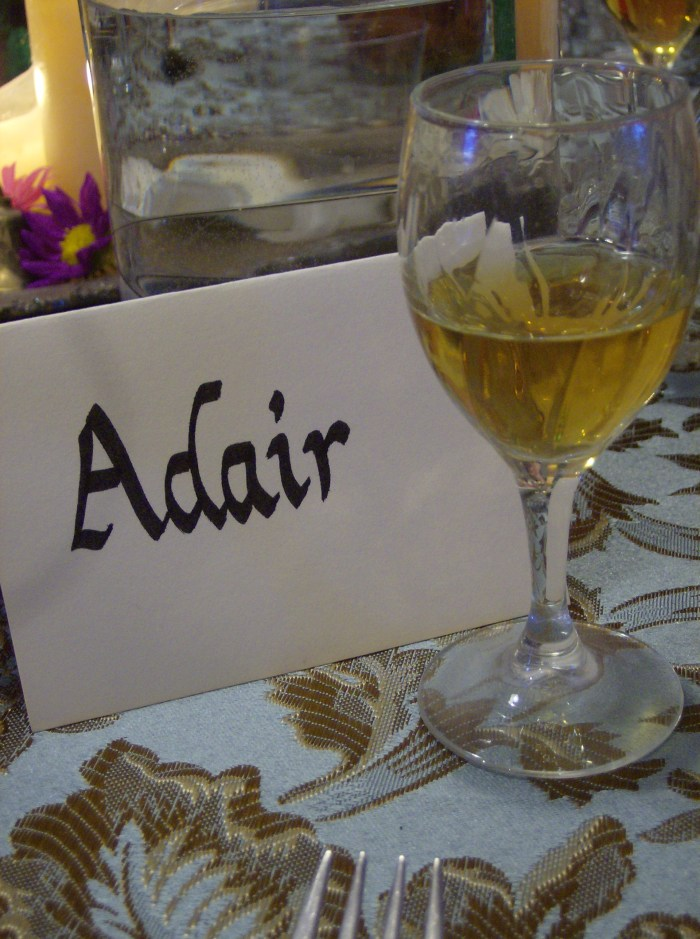 Georgian Dinner Glass of Rum