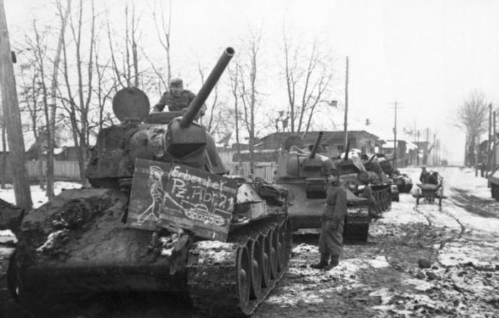 Captured T-34s