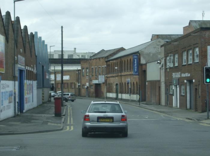 Dodgy bit of Birmingham