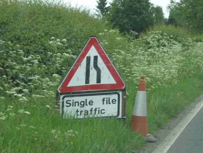 Roadworks Warwickshire