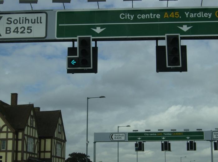 Birmingham Roadsigns