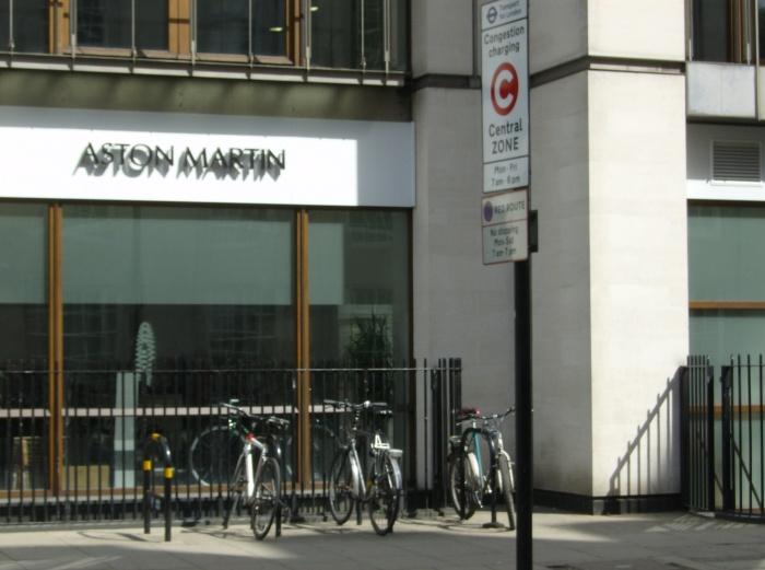 Park Lane Aston Martin