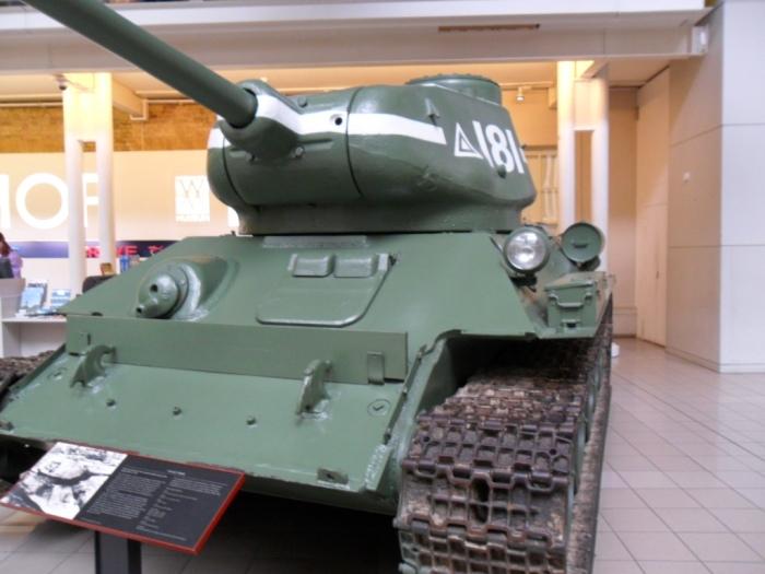 T-34 IWM London
