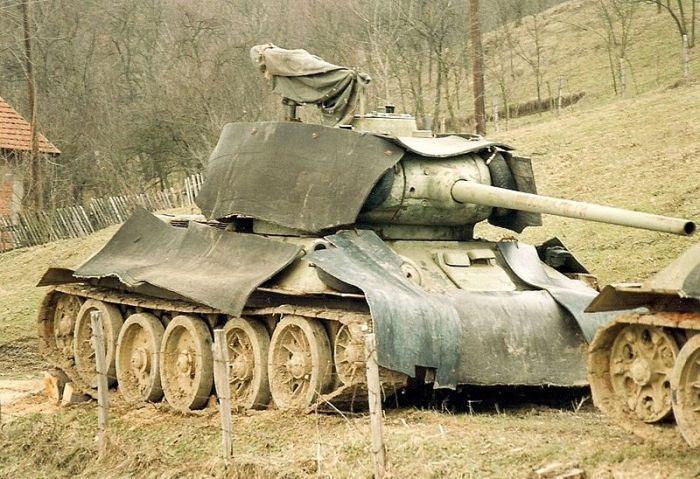 Serbian T-34
