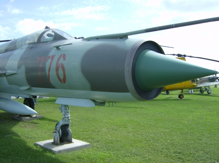 Trenton MiG-21 Cockpit