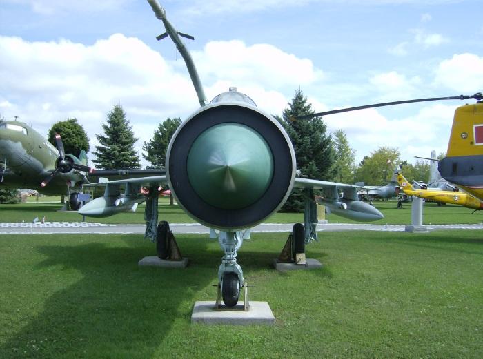 Trenton MiG-21 Nose