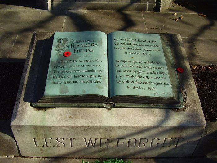Flanders Fields Book