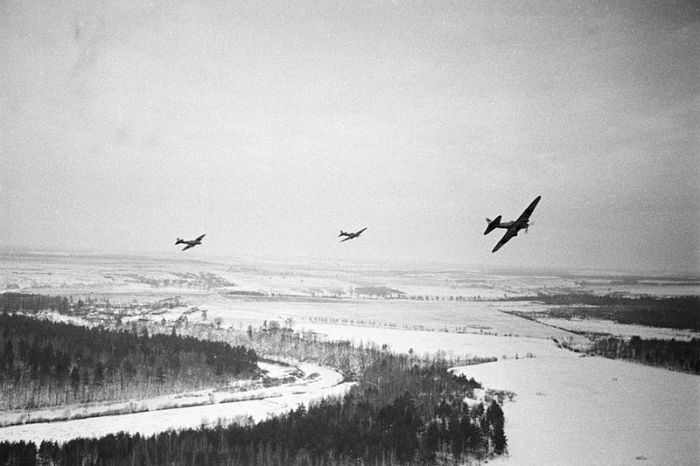 Soviet Planes Moscow 1941