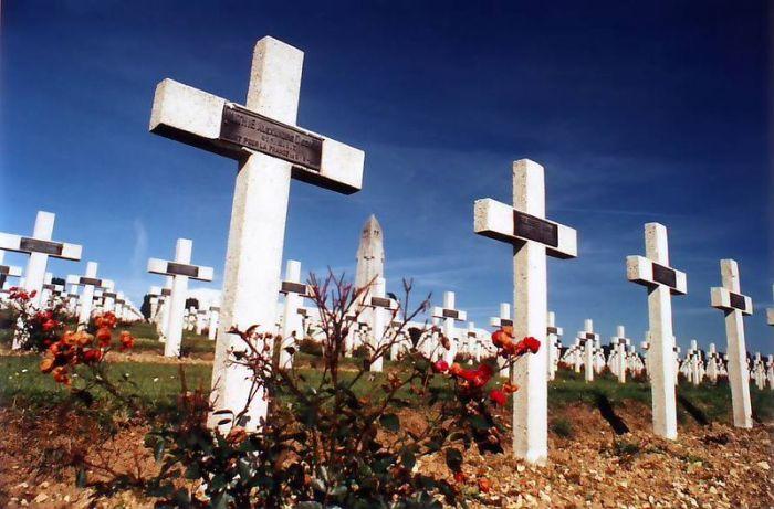 Douaumont Ossuary Graves