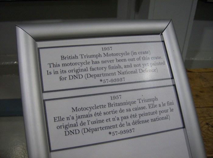 Boxed Triumph Info