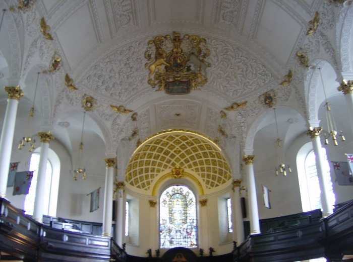 St Clements Ceiling
