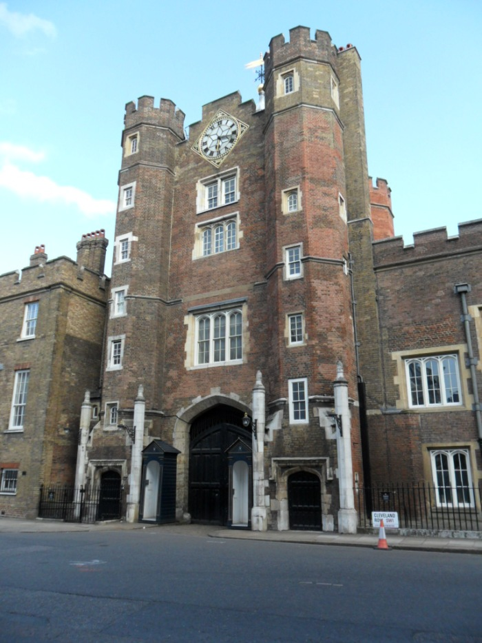 St. James's Palace Front