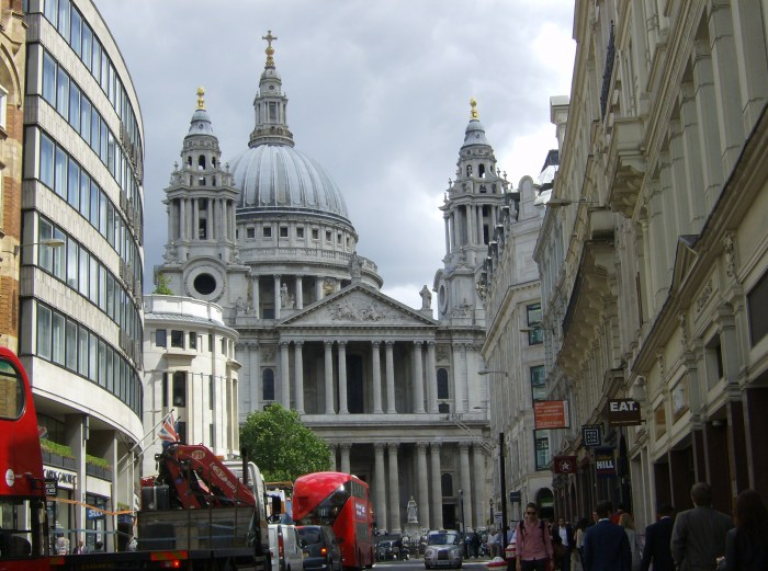 St Paul's from Fleet Street