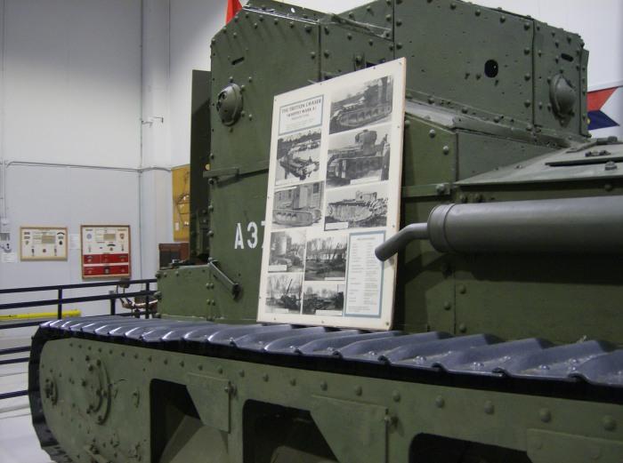 Whippet Tank Borden