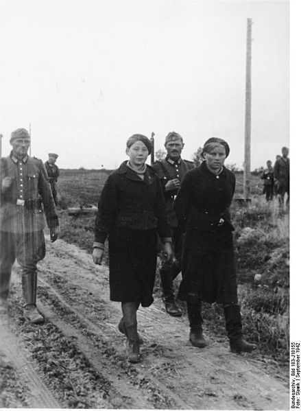 Captured Female Partisans