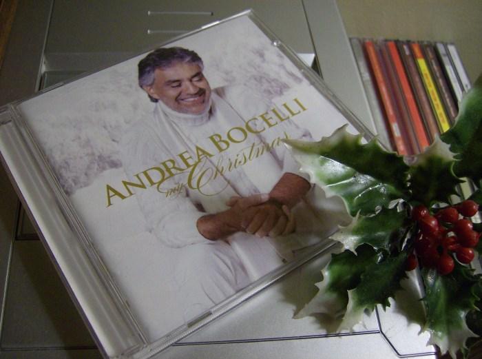 Christmas CD Bocelli