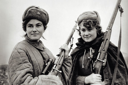 Sydir Kovpak Female Partisans