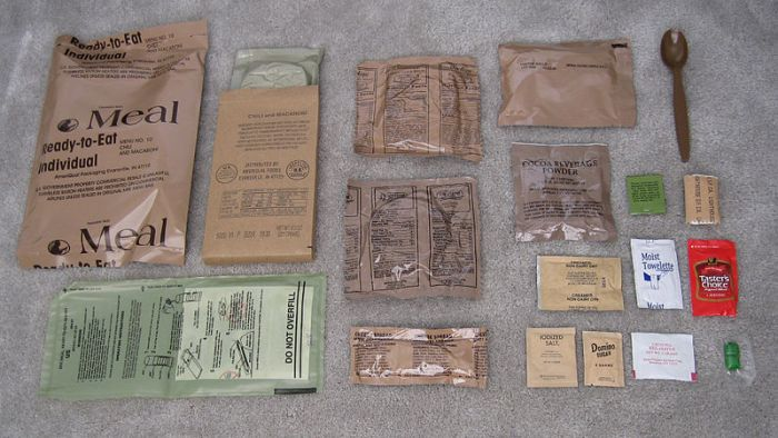 Modern MRE Rations