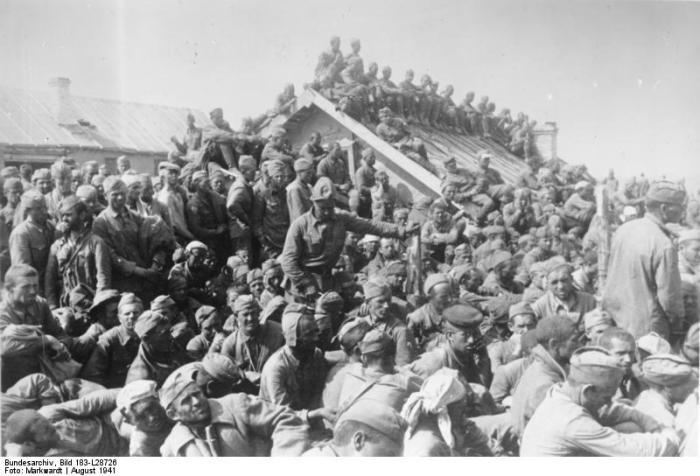 Soviet PoWs Smolensk