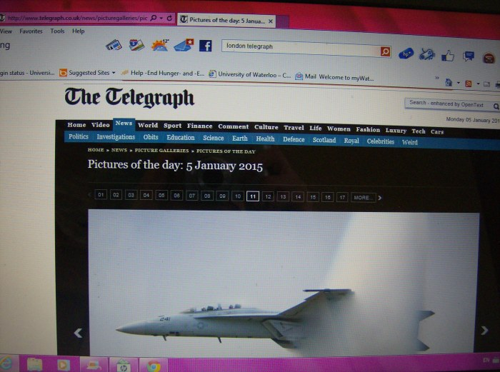 Telegraph Page