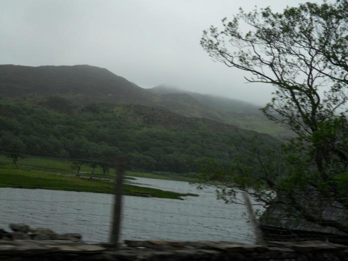 Wales Cloudy Lake